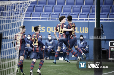 El Barça B aspira los play-offs