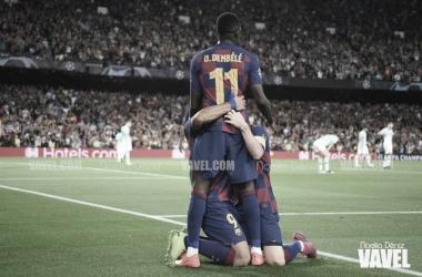 El Barcelona gana el primer asalto europeo del Camp Nou | Foto: Noelia Déniz - VAVEL