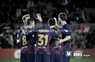 El Barcelona sobrevive en San Paolo
