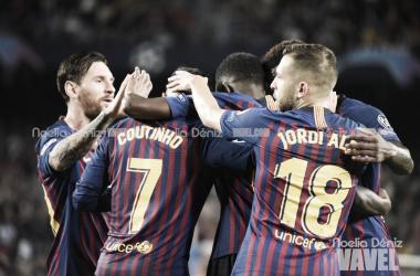 El Barcelona certifica la primera plaza del grupo sin demasiado fútbol