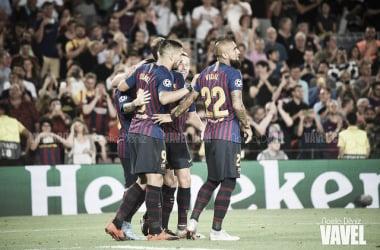 El Barça, a por otros tres puntos. FOTO: Noelia Déniz