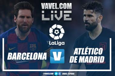 Resumen Barcelona vs Atlético de Madrid (2-2)