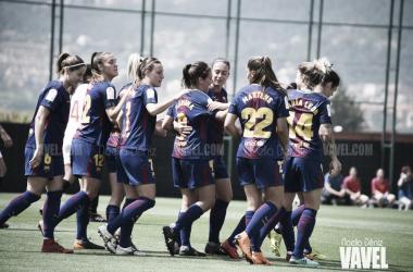El FC Barcelona ya conoce el camino hacia el título de Liga Iberdrola   Foto: Noelia Déniz - VAVEL