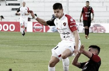Facundo Barceló, uno de los goleadores del Rojinegro. Foto: Superdeportivo.com.ar.