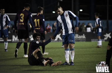 Imagen del Espanyol B - Barcelona B de la primera vuelta | Foto: Noelia Déniz (VAVEL)