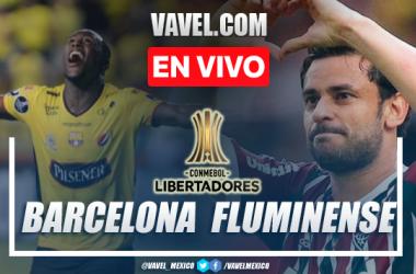 Goles y resumen del Barcelona SC 1-1 Fluminense en Copa Libertadores 2021