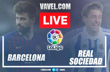 Gols e melhores momentos Barcelona x Real Sociedad pela LaLiga (4-2)