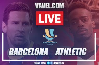 Gols e melhores momentos de Barcelona 2 x 3 Athletic Bilbao pela Supercopa da Espanha