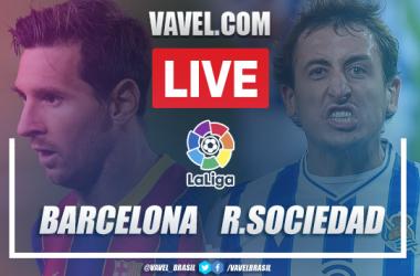 Gols e melhores momentos Barcelona 2x1 Real Sociedad pela LaLiga