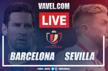 Gols e melhores momentos Barcelona 3x0 Sevilla pela Copa do Rei