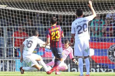 Numancia - FC Barcelona B: puntuaciones del FC Barcelona B, jornada 34 de Liga Adelante