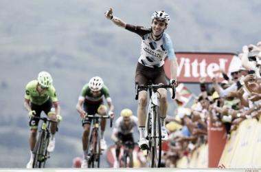 Romain Bardet es la gran esperanza gala para vencer de nuevo en el Tour. | Foto: TDF