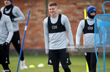 Harvey Barnes has returned to training with Leicester City | Photo: Getty/ Plumb Images