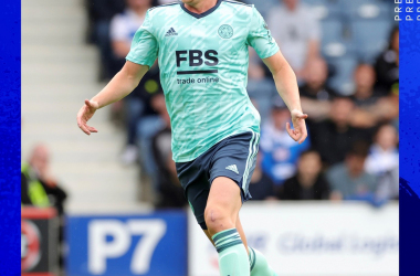 Harvey Barnes returns to the pitch for the first time since February.&nbsp;&nbsp;<br>(Image from https://www.LCFC.com)<br>