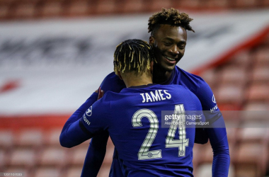 Barnsley 0-1 Chelsea: Abraham secures nervy Blues win