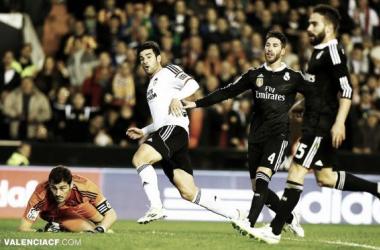 Barragán abandonó el partido por una lesión muscular