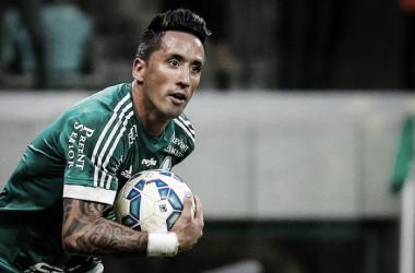 Barrios en el Palmeiras no tiene protagonismo. (Foto: Web)
