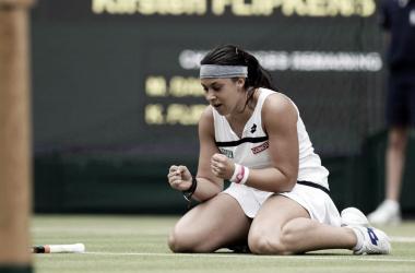 Bartoli. Foto: Wimbledon