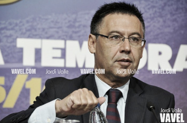 """Bartomeu: """"Haremos valer nuestro compromiso con Cataluña"""""""