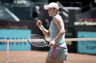 Ashleigh Barty venceu Paula Badosa no WTA 1000 de Madrid 2021 (WTA / Divulgação)
