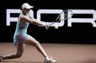 Ashleigh Barty venceu Laura Siegemund no WTA 500 de Stuttgart 2021 (WTA / Divulgação)