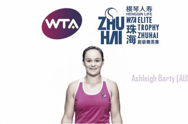 Ashleigh Barty will make her second consecutive appearance in Zhuhai | Edit: Don Han