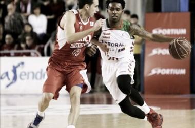 Baskonia y Manresa se enfrentan en la última jornada con los vallesanos jugándose la permanencia en la Liga Endesa.   Foto: ACB