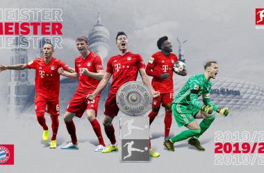 Il Bayern Monaco vince il trentesimo Meisterschale