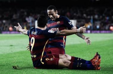 Liga dos Campeões: Barcelona vence BATE ao ritmo de Suárez e Neymar