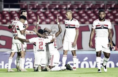 São Paulo 4 a 0 Mirassol (Paulistão / Divulgação)