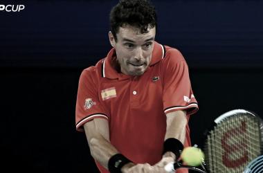 Sem Nadal, Espanha vence Austrália na estreia da ATP Cup
