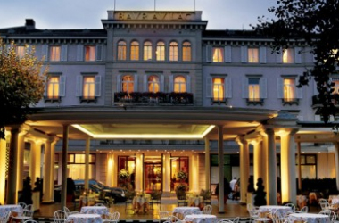The now infamous Baur au Lac Hotel in Zurich. Photo from trip-europe.eu