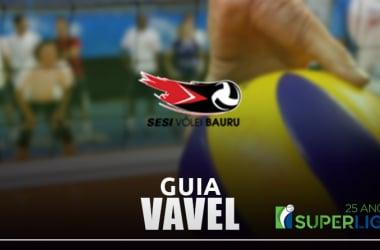 Guia VAVEL Superliga Feminina de Vôlei 201819:Sesi Bauru
