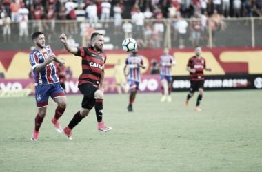 Vitória domina, mas esbarra em boa atuação de Jean e só empata com Bahia