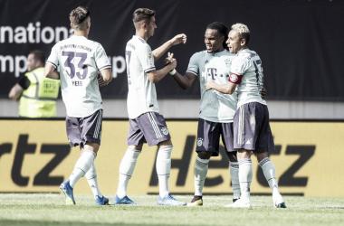Contundente victoria del Bayern Múnich contra el PSG | Foto: @FCBayern