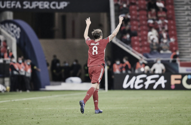 Javier Martínez deixa futuro noBayernem aberto após conquista da Supercopa da Uefa