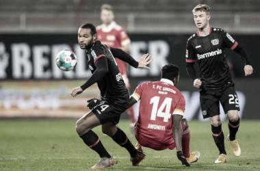 Bayer Leverkusen 1 a 1 Union Berlin (Bundesliga / Divulgação)