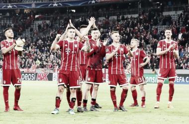 El Bayern estará pendiente del sorteo de las semifinales de la Champions I Foto: @FCBayernES