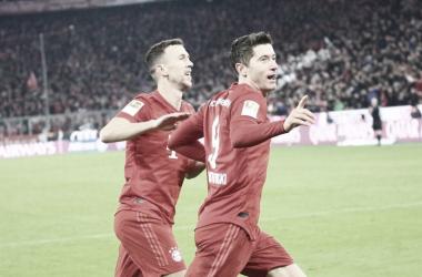 Bayern Múnich aplastó al Borussia Dortmund (4-0)