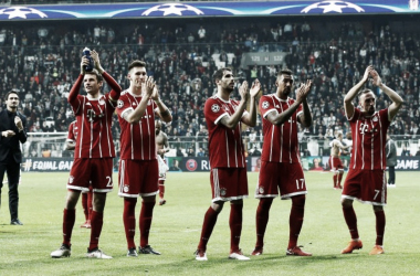 Bayern secure away victory in Seville. Photo: Osman Orsal/REUTERS