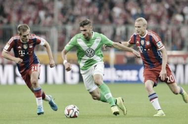 Resultado Bayern de Múnich - Wolfburgo en Bundesliga 2015 (5-1)