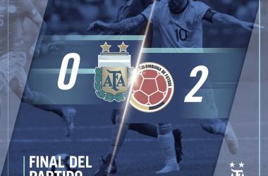 Colombia amargó a Argentina en la Copa América