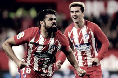 Diego Costa es sinónimo de revolución/ Fuente: Atlético de Madrid