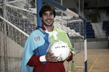 """Carlos Barrón: """"Queda poca temporada y hay que poner todas las cartas sobre la mesa"""" (Foto: Palma Futsal)"""