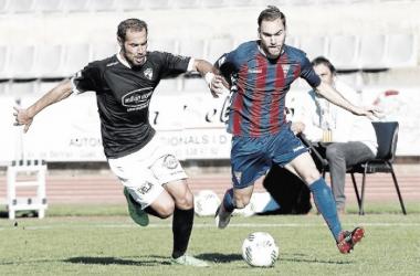 CD Ebro - CF Gavà: Partido intrascendente
