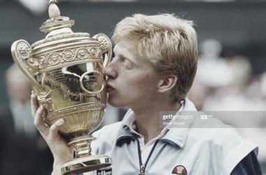 El adolescente que conquistó Wimbledon.La historia de Boris Becker