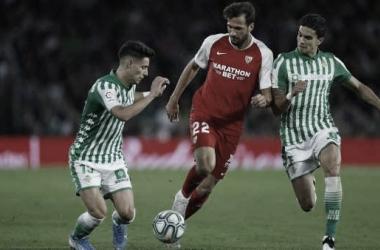Bartra y Álex Moreno, los que más minutos han jugado en nueve jornadas
