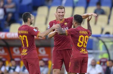 Serie A- La Roma demolisce il Sassuolo, gara spumeggiante all'Olimpico (4-2)