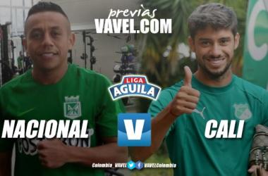 Previa Atlético Nacional vs Deportivo Cali: verdes en busca de volver a la victoria
