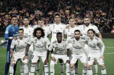Once del Madrid de Solari / Foto: La Liga